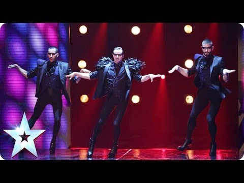 marshall - See more from Britain's Got Talent at http://itv.com/talent The boys in stilettos strut there stuff in the semi-final. Will the public fall head over heels f...