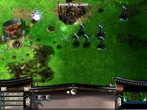 Battle realms Dragon peasants turns warlocks:D