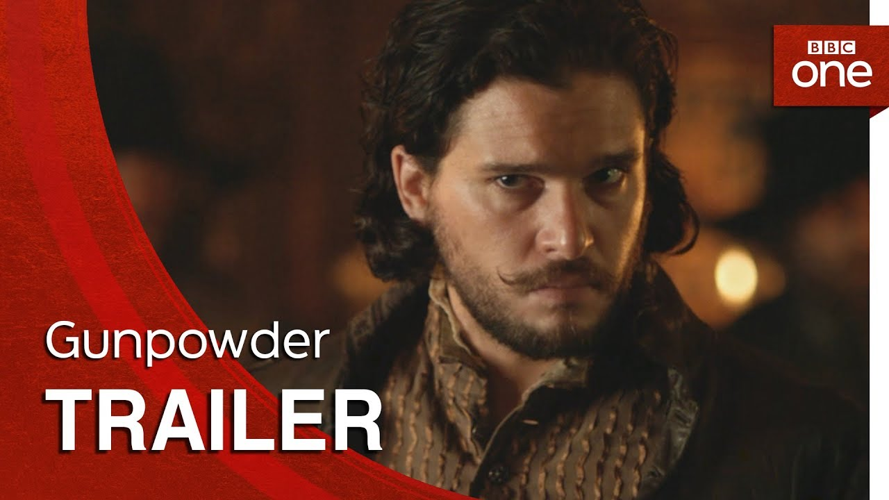 Behind Every Plot is a Mastermind in BBC's 'Gunpowder' (Trailer) three-part Mini-Series starring Kit Harington