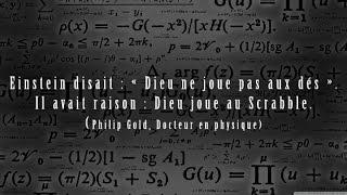 LA SCIENCE RÉVÈLE L'EMPREINTE DE DIEU