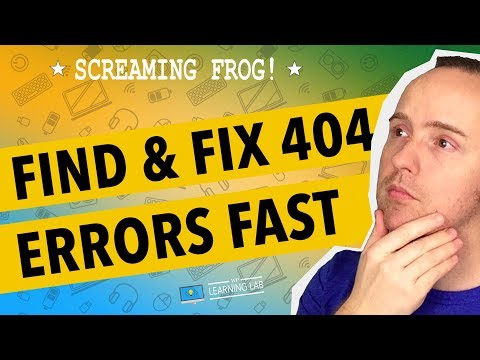 Screaming Frog SEO Spider - Find Broken Internal Links