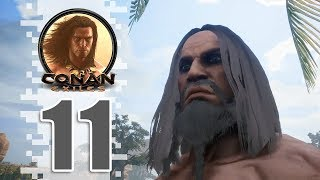 We Found A Spot! - EP11 - CONAN EXILES (Removing The Bracelet)