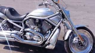 1. 2003 Harley Davidson Vrod VRSC Walk-through and ride demo