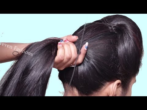 Easy hairstyles - Easy Wedding hairstyle 2019 for girls  Hairstyles for long hair  New Hairstyles  hair style girl