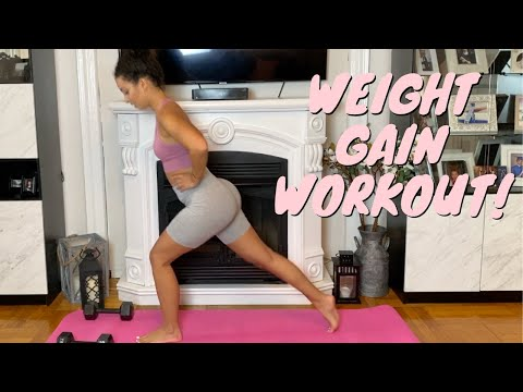 At-Home Weight Gain Workout | New 30 Day Challenge!!