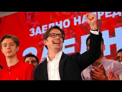 Nord-Mazedonien: Pendarovski, pro-westlicher Kandidat ...