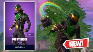 NEW LUCKY RIDER SKIN GAMEPLAY IN FORTNITE!