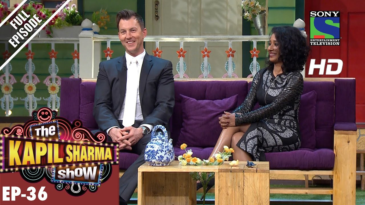 Brett Lee in The Kapil Sharma Show 21st August 2016
