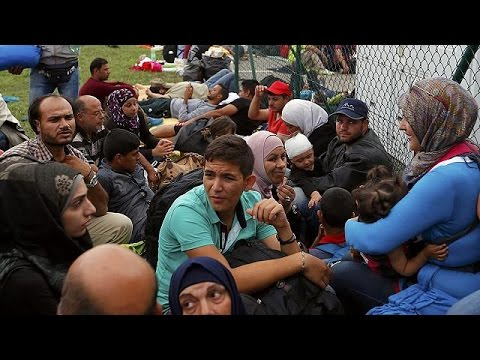 Δραματικές στιγμές για τους πρόσφυγες σε Κροατία, Σερβία, Ουγγαρία και Σλοβενία