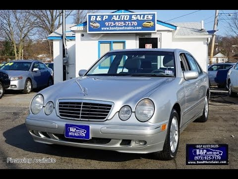 2000 Mercedes Benz E Class E320 Sedan