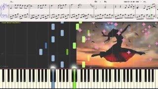 НЕБО - Успенская (Ноты для фортепиано) (piano cover)