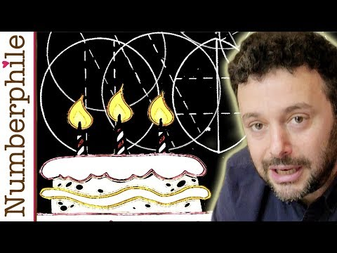 scientific - Alex Bellos on cutting a cake using scientific principles. Extra footage at Numberphile2: http://youtu.be/d5ZmPuta47Q Alex's book (US): http://amzn.to/1nDS4m...