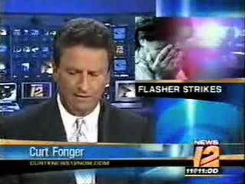 flasher exposed?? funny news blooper