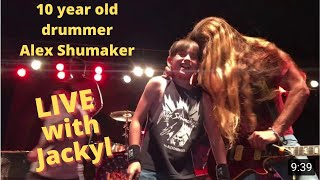 Video 10 year old Alex Shumaker playing I stand Alone with Jackyl MP3, 3GP, MP4, WEBM, AVI, FLV November 2018