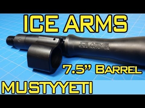 mustyyeti - Today we are discussing the Ice Arms 7.5 inch, stainless steel, nitride coated barrel with a 1/8 twist. This barrel is made by Green Mountain Barrel company ...