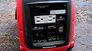 2. Honda eu1000i running.