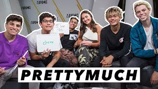 Video PRETTYMUCH Plays The Most Likely To Challenge | Interview with Jaclyn Forbes MP3, 3GP, MP4, WEBM, AVI, FLV September 2018