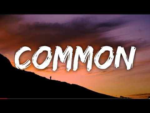 Zayn - COMMON (Lyrics)
