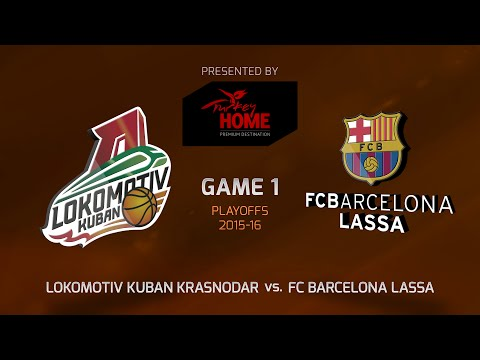 Highlights: Playoffs Game 1, Lokomotiv Kuban Krasnodar 66-61 FC Barcelona Lassa