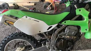 2. Kawasaki klx 300r review and start up
