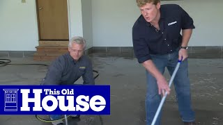 Video How to Epoxy Coat a Garage Floor | This Old House MP3, 3GP, MP4, WEBM, AVI, FLV Agustus 2019