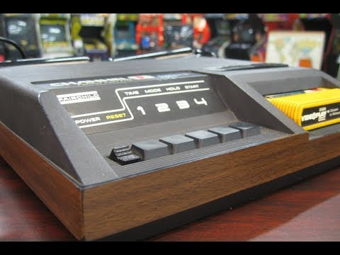 Classic Game Room - FAIRCHILD CHANNEL F console review