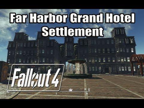 Fallout 4  Far Harbor Grand Hotel Settlement