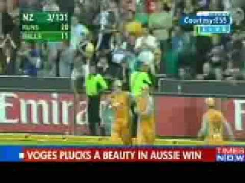 Watch Amazing catch by Adam Voges Cricket Sports Videos The Times of India