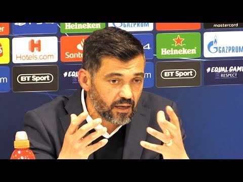 Liverpool 2-0 Porto - Sergio Conceicao Post Match Press Conference - Champions League