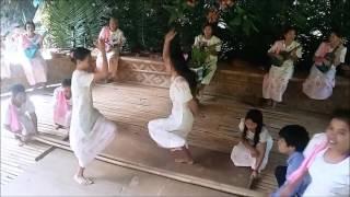 Loboc Philippines  city images : Tinikling dance on the Loboc River, Loboc River Cruise, Bohol Philippines