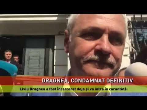 Liviu Dragnea, condamnat definitiv la închisoare cu ecxecutare și încarcerat
