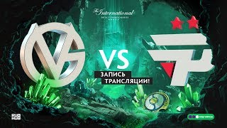 VG vs paiN, The International 2018, Group stage, game 1