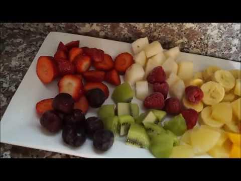 فيديو Brochettes fruits (فواكه بتقديم جميل)