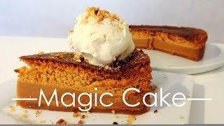 Magic Cake au caramel