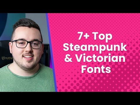 7+ Top Steampunk And Victorian Fonts