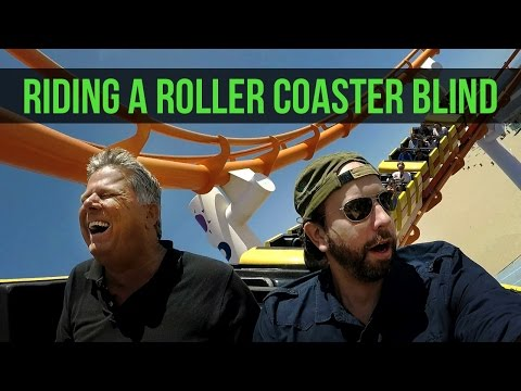 Blind Man Describes What It s Like to Ride a Rollercoaster