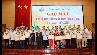 TP Uông Bí: Gặp mặt kỷ niệm Ngày Doanh nhân Việt Nam