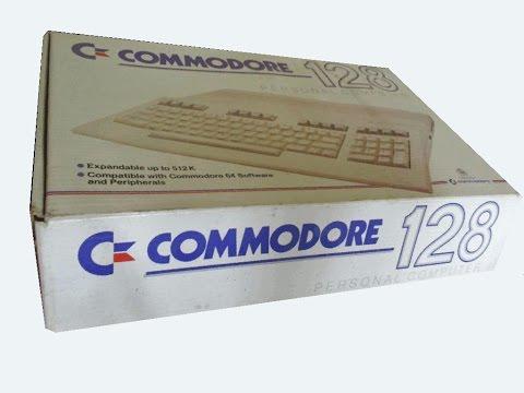 Commodore 128 - unboxing/wypakowanie PL
