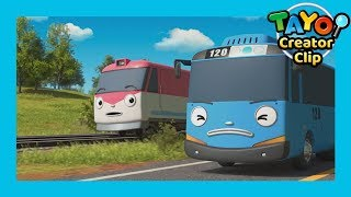 Video Tayo Episode Clip l Tayo and Train Titipo's race! l Tayo the Little Bus MP3, 3GP, MP4, WEBM, AVI, FLV Mei 2019