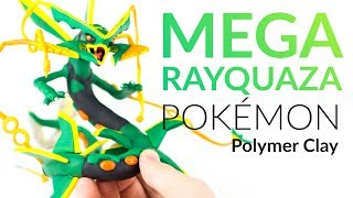 "Please watch: ""Lugia (Pokemon) – Polymer Clay Tutorial"" https://www.youtube.com/watch?v=15hHtHiKSuc-~-~~-~~~-~~-~-Hey guys and welcome to this polymer clay tutorial!! Today we create the Pokemon Mega Rayquaza!! You decided in the poll and voted for Rayquaza, but since I created the Mega Knight I thought it would be just fair to also create Mega Rayquaza :DI will guide you step by step, but to be honest, this creation is a bit too messy and complicated for me. At least we will have some fun while creating this polymer clay character :)-----------------------------------------------------------Links:my CLAY ▸ http://amzn.to/2vHCqNrGyarados ▸ https://youtu.be/DtmP1EiY_OU-----------------------------------------------------------More ways to follow ClayClaim:Instagram ▸ https://www.instagram.com/clayclaim/Snapchat  ▸ https://www.snapchat.com/add/clayclaimFacebook ▸ https://www.facebook.com/clayclaimTwitter ▸ https://twitter.com/ClayClaimEtsy ▸ coming soon!!"