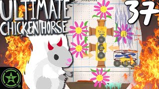 The Most EVIL Trap EVER! - Ultimate Chicken Horse (#37) by Let's Play