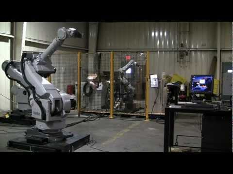 Motoman UP165 XRC Industrial Robot Arm