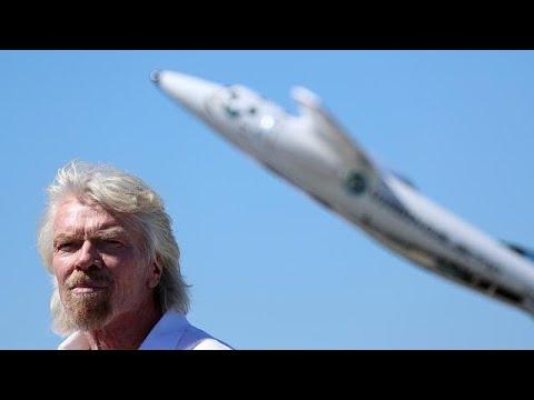 Μεγάλη επιτυχία για την Virgin Galactic