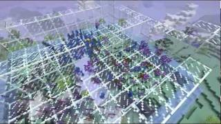 Minecraft Clay Soldiers AETHER Sky Battle in Midair! Glass Castle!