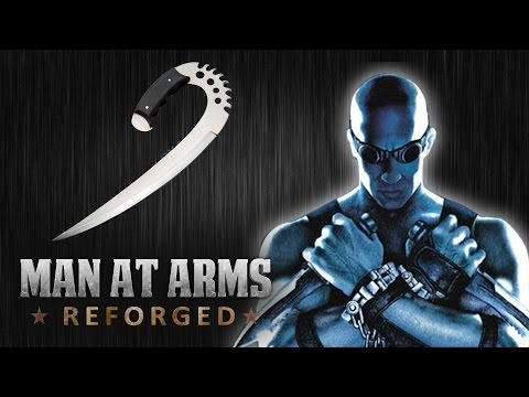 MAN AT ARMS Forging Riddick  s Furyan Ulaks in Real
