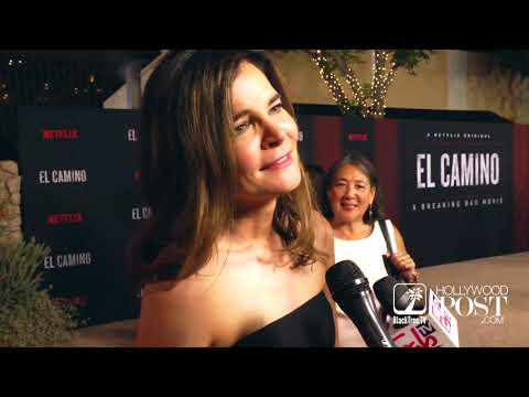 Betsy Brandt says she can no longer wear purple at El Camino A Breaking Bad Movie Premiere