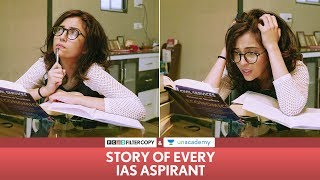Video FilterCopy | Story Of Every IAS Aspirant | Ft. Barkha Singh MP3, 3GP, MP4, WEBM, AVI, FLV Mei 2018