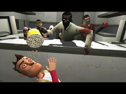 Garrys Mod - SURVIVAL IN A HOSPITAL FULL OF ZOMBIES? - Garry's Mod Gameplay (Gmod Roleplay) - Zombie Apocalypse