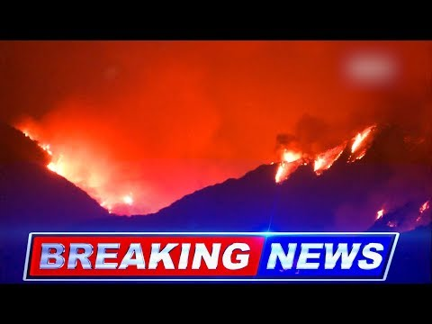 BREAKING NEWS: Thomas Fire Force Mass Evacuations in Los Angeles