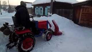 КМЗ-012 уборка снега снега -ротором  №1